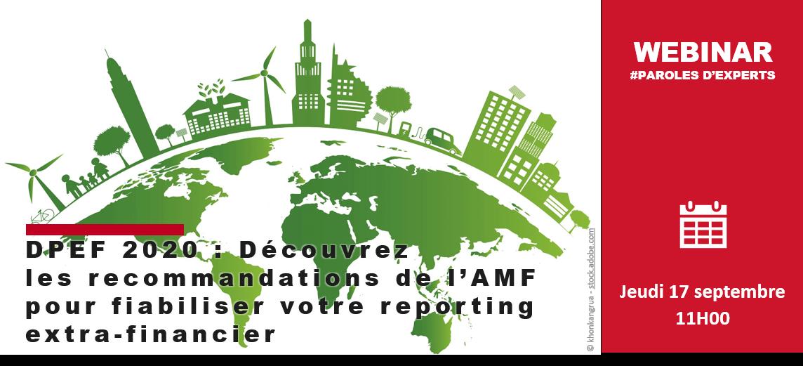 reportwise DPEF webinar extra-financier