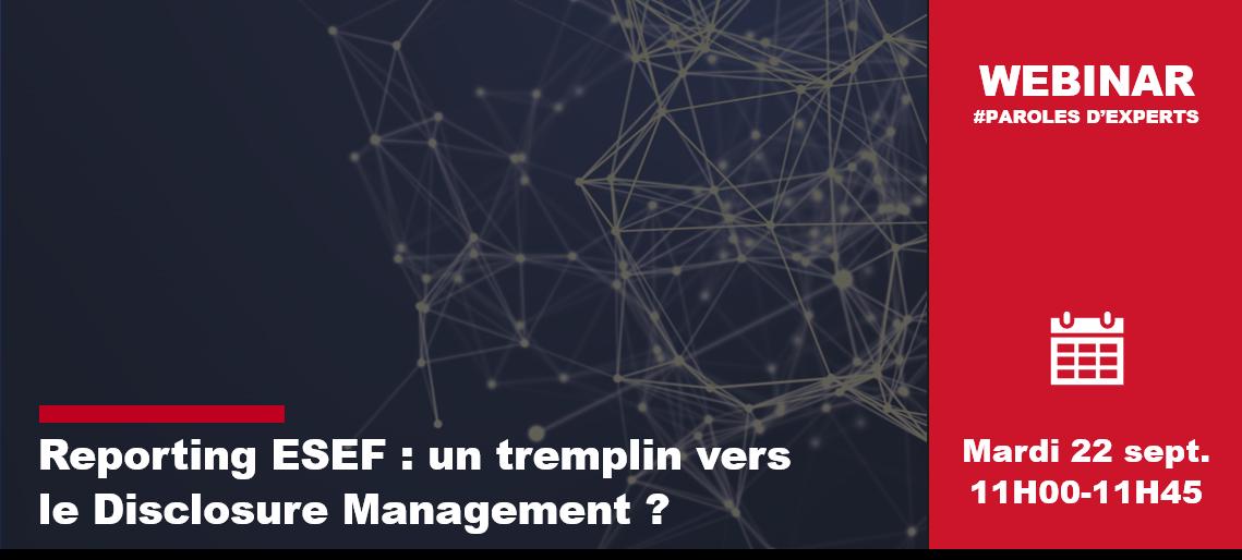 Webinar ESEF
