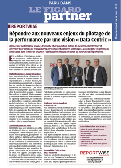 Axes 2021 Le Figaro Reportwise